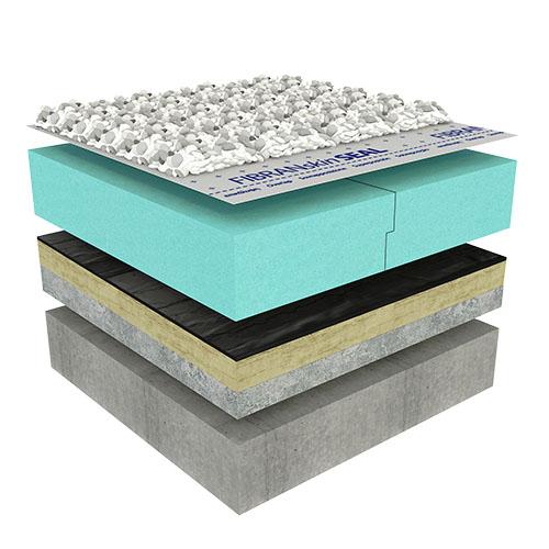 Pohodna ravna streha - PLUS